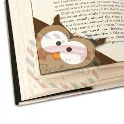 Fustella Sizzix Bigz Bookmark Corner Owl