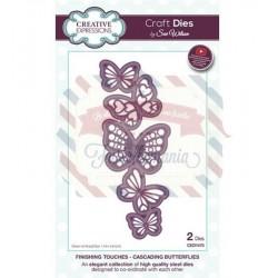 Fustella metallica Creative Expressions Cascading Butterflies