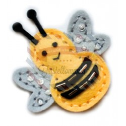 Fustella metallica Memory Box Plush Baby Bumble