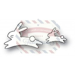 Fustella metallica Memory Box Quick Bunnies
