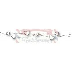 Fustella metallica PoppyStamps Gentle Hearts