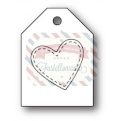 Fustella metallica PoppyStamps Heart Taglet