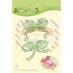 Fustella metallica Leane Creatief Bows