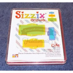 Fustella Sizzix originals Targhette 2