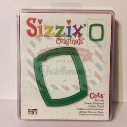 Fustella Sizzix Bigz Cornice con punte
