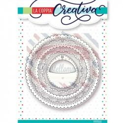 Fustella metallica Cerchi creativi