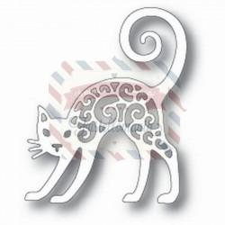 Fustella metallica Tutti Designs Black cat