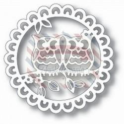 Fustella metallica Tutti Designs Love Owls