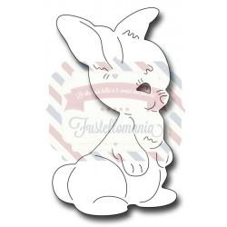 Fustella metallica Vintage Bunny