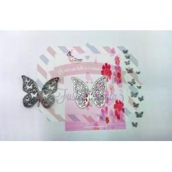 Fustella metallica Farfalla e farfalline