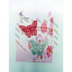 Fustella metallica Farfalla 5