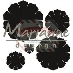 Fustella metallica Marianne Design Craftables Succulent Round