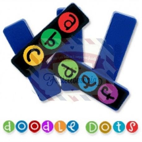 Fustella Sizzix Doodle Dots Alfabeto minuscolo