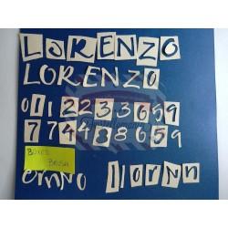 Fustella Sizzix Alfabeto Sizzlits Boxed Brush