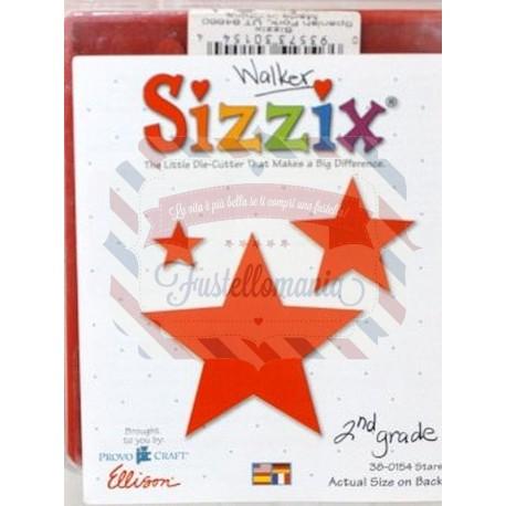 Fustella Sizzix Bigz Stelle