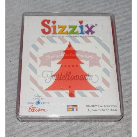 Fustella Sizzix Bigz Albero di Natale