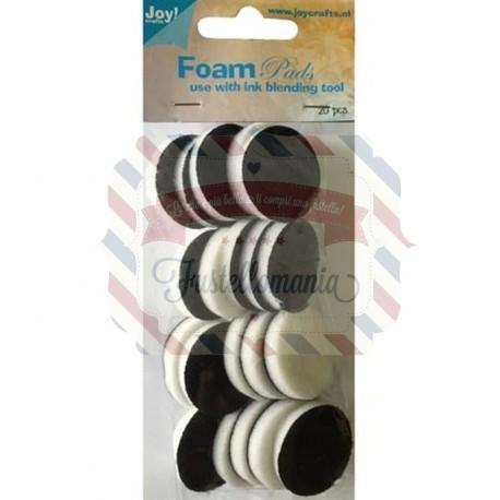 Foam pads per inchiostro 20 pezzi