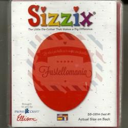 Fustella Sizzix Bigz Ovale 1