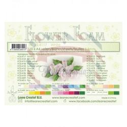 Fommy Leane Creatief per fiori 0,8 mm in fogli A4 10 pezzi colore Bianco