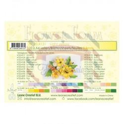 Fommy Leane Creatief per fiori 0,8 mm in fogli A4 10 pezzi colore Giallo chiaro