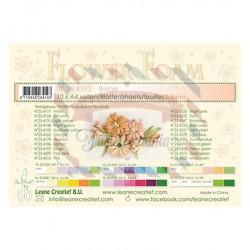 Fommy Leane Creatief per fiori 0,8 mm in fogli A4 10 pezzi colore Beige