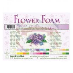 Fommy Leane Creatief per fiori 0,8 mm in fogli A4 10 pezzi colore Viola scuro