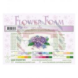 Fommy Leane Creatief per fiori 0,8 mm in fogli A4 10 pezzi colore Viola chiaro