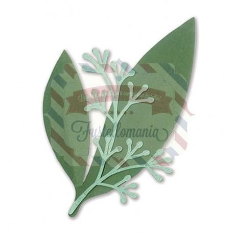 Fustella Sizzix Framelits Eucalyptus