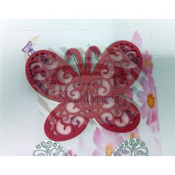 Fustella metallica Farfalla 6