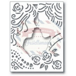 Fustella metallica Tutti Designs Wedding Couple Panel