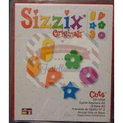 Fustella Sizzix Bigz Targhette con occhiello