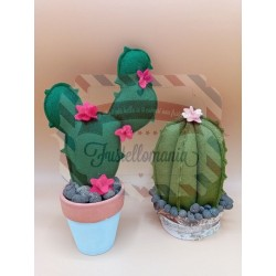 Fustella XL Cactus e pianta grassa con fiore