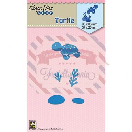 Fustella metallica Nellie's Choice Holidays Turtle