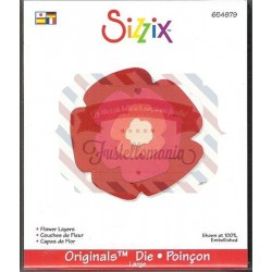Fustella Sizzix Originals Fiore a strati