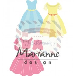 Fustella metallica Marianne Design Collectables Dress