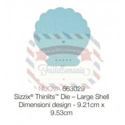 Fustella Sizzix Thinlits Large Shell