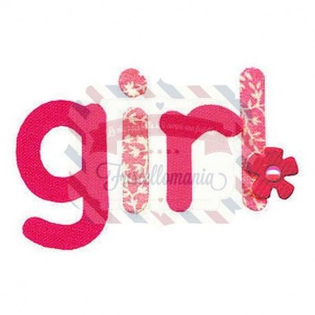 Fustella Sizzix Girl con fiore 2