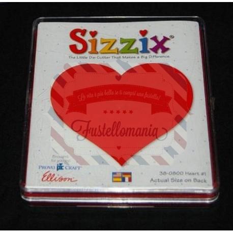 Fustella Sizzix Bigz Cuore 1