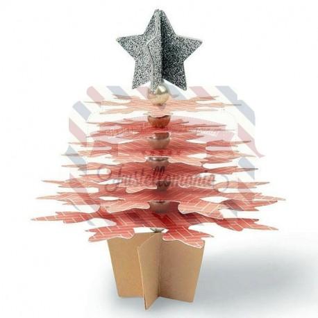Fustella Sizzix Bigz Snowflake Christmas Tree