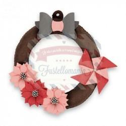Fustella Sizzix A4 Hanging Wreath