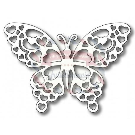 Fustella metallica Farfalla