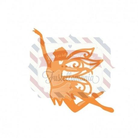 Fustella metallica Tonic Studios Rococo die petite fairy fae ella