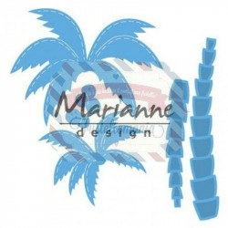 Fustella metallica Marianne Design Creatables Palm trees