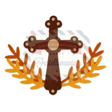 Fustella Sizzix Bigz Crucifix