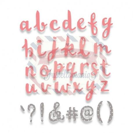 Fustella Sizzix BIGz XL Alphabet