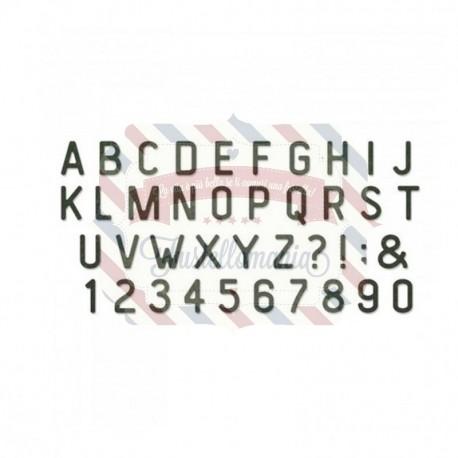 Fustella Sizzix BIGz XL Letterboard
