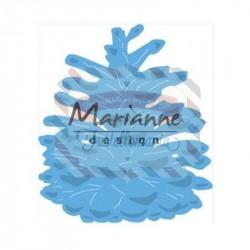 Fustella metallica Marianne Design Creatables Tiny's pinecone L