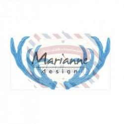 Fustella metallica Marianne Design Creatables Anja's antlers