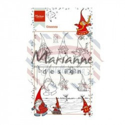 Timbri Marianne Design Clear Stamps Hetty's gnomes
