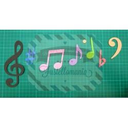 Fustella L Note musicali